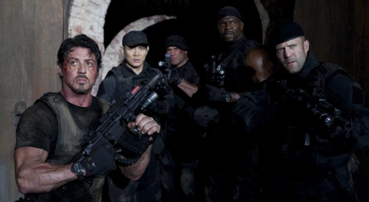 Still from The Expendables